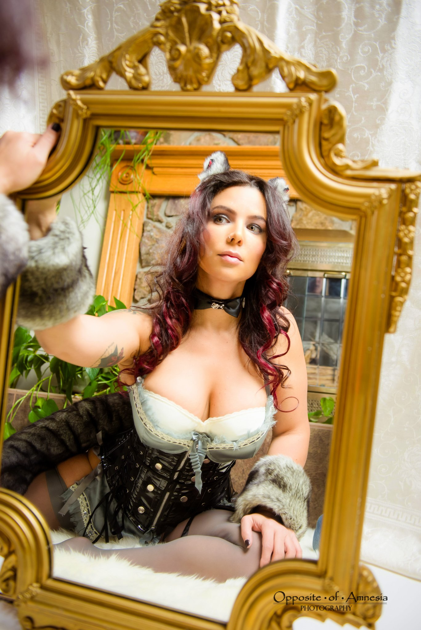 Now who's that pretty kitty in the mirror? post thumbnail