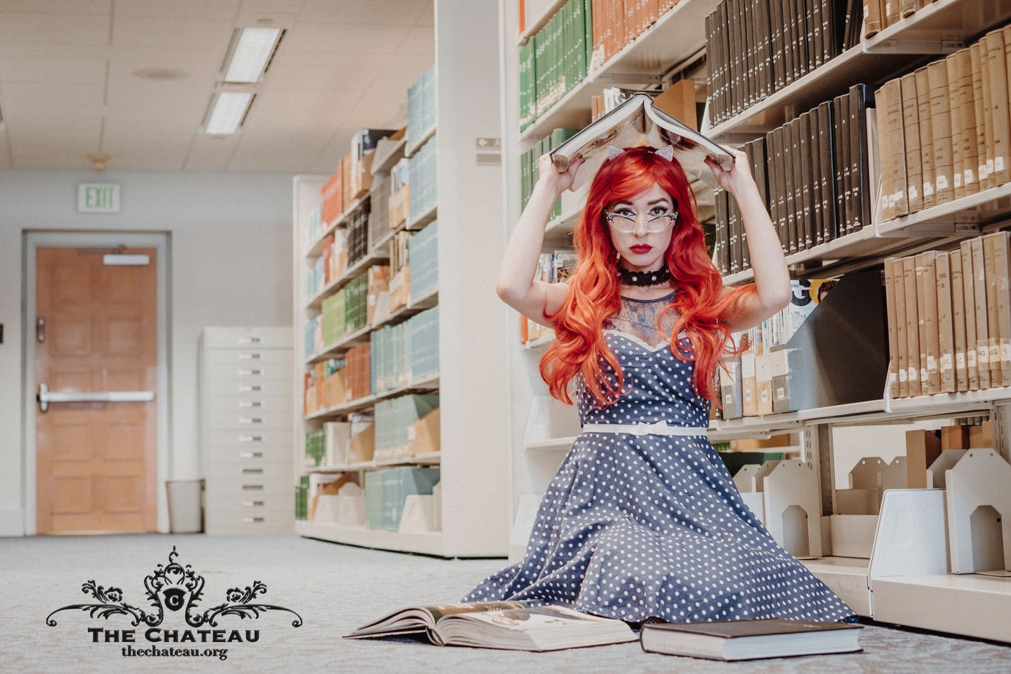 Emerald LeMinx's Library Shoot post thumbnail