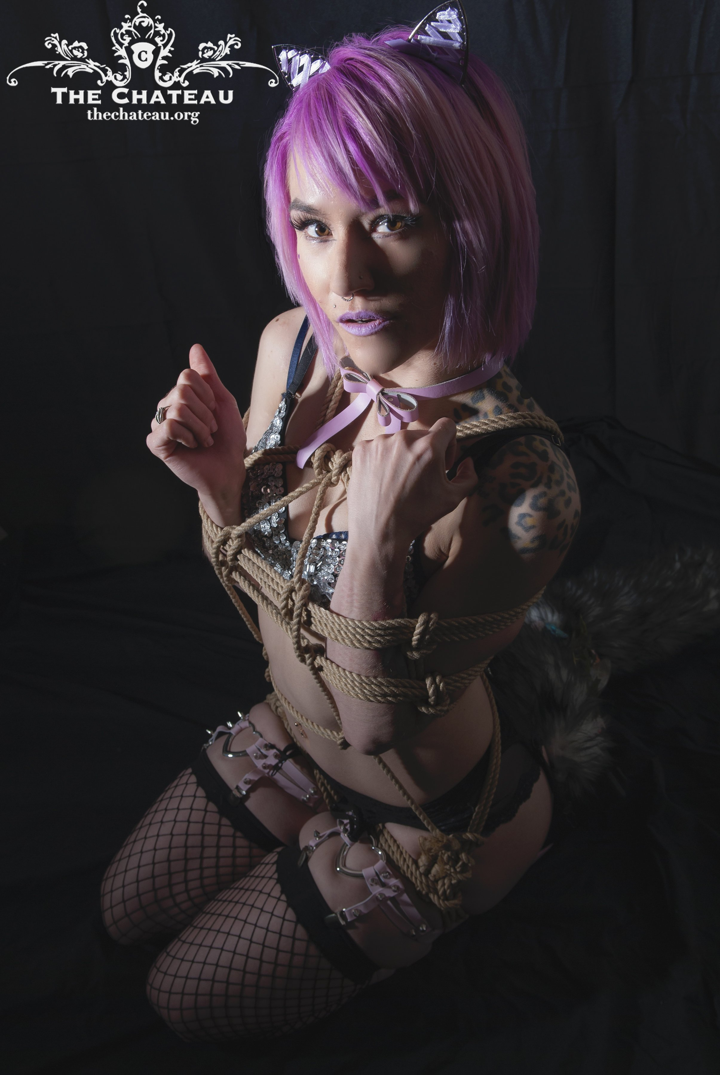 Elle Chaton in Rope post thumbnail