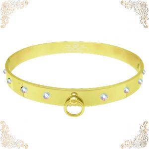 The Aurora Borealis Gold Collar