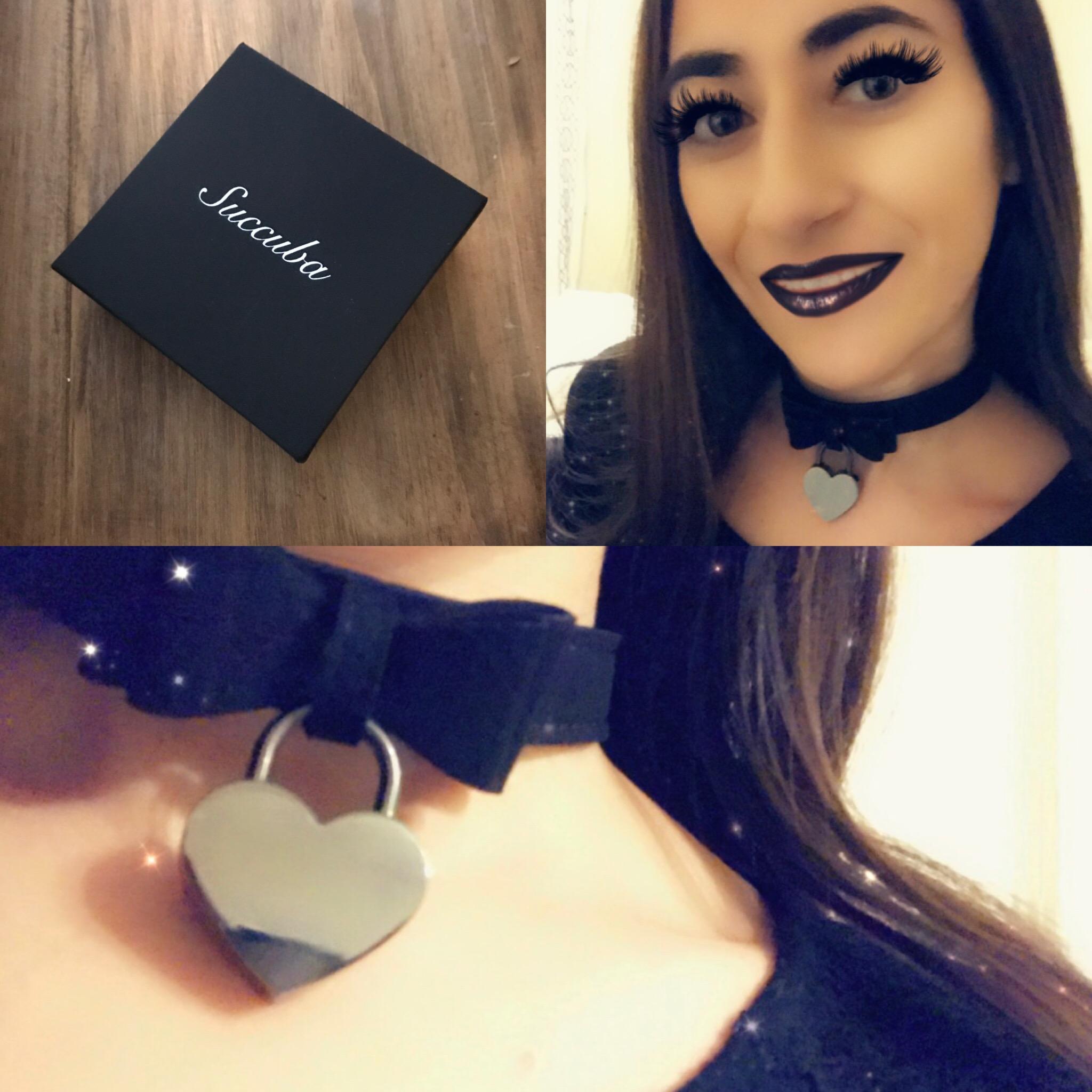 Succuba Black Velvet Ribbon/Heart Locket Collar Review post thumbnail