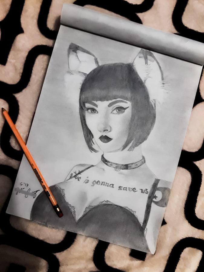 A Kitten, an Artist post thumbnail
